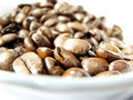 Free Natural Black Coffee Beans Closeup Stock Photography - 5033742