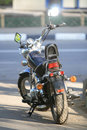 Free Motorcycle In The Street Royalty Free Stock Image - 5034006