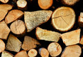 Free Stack Of Firewood Royalty Free Stock Photos - 5034318