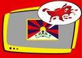 Free Tibet Series - Information Royalty Free Stock Image - 5038856
