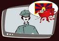 Free Tibet Series - Information Royalty Free Stock Photos - 5038858