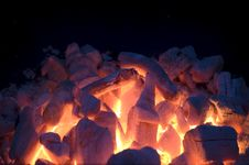 Free Live Coals Royalty Free Stock Images - 5030909