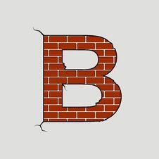 Free Letter B Royalty Free Stock Image - 5031276