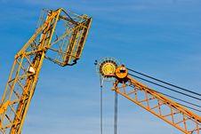 Free Crane, Italy. Royalty Free Stock Photography - 5032417