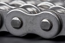 Free Detail Of Metal Lin Chain Royalty Free Stock Photo - 5032485