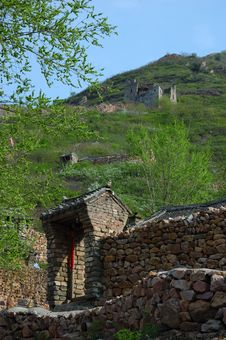 Free Great Wall And Farmhouse Stock Photo - 5032590