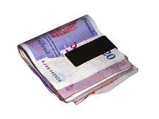 Free Cash Fold Royalty Free Stock Photo - 5033155
