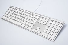 Modern And Stylish Keyboard Royalty Free Stock Photography