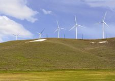 Free Five Windmills Royalty Free Stock Photos - 5034118