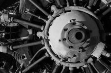 Free Airplane Engine Royalty Free Stock Image - 5034406