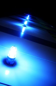 Free Blue Light Royalty Free Stock Image - 5034616