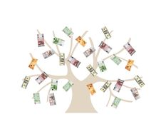 Free Money Tree Royalty Free Stock Photography - 5034927