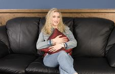 Free Hugging Pillow Royalty Free Stock Photos - 5034938