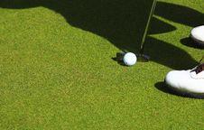 Free Golfer Royalty Free Stock Photo - 5034955