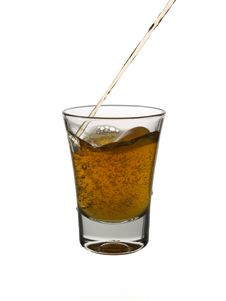 Free Pouring A Shot Of Whisky Stock Photo - 5035030