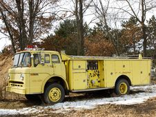 Old Firetruck Royalty Free Stock Image