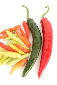 Free Chilies, Red, Green And Hot Chili Stock Photography - 5035262