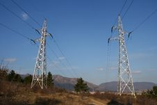 Free Electricity Pylons Stock Images - 5036054
