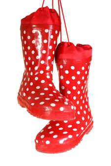 Free Water-proof Boots Royalty Free Stock Photo - 5036375