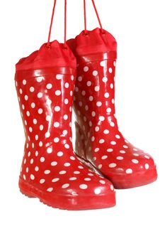 Free Water-proof Boots Royalty Free Stock Photo - 5036385