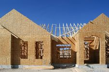 Free Construction Of New Home Stock Photography - 5036432