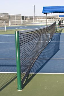 Free Tennis Net Royalty Free Stock Image - 5036476