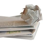 Free Newspaper Royalty Free Stock Images - 5036849