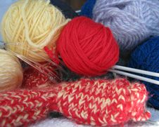Free Knitting5 Stock Images - 5037194