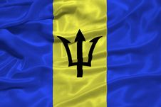 Free Barbados Flag 3 Stock Images - 5038164