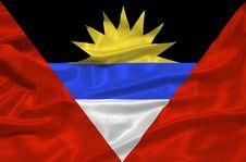 Free Antigua And Barbuda Flag 3 Stock Photo - 5038220