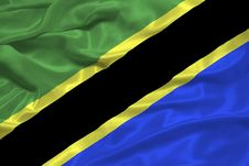 Free Tanzania Flag 3 Stock Image - 5038231