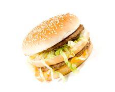 Free Hamburger Stock Photography - 5038882