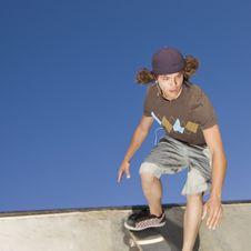 Free Skateboard Tricks Stock Photos - 5039113