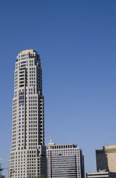 Free Grey Tower Rising From Skyline Royalty Free Stock Photography - 5039307