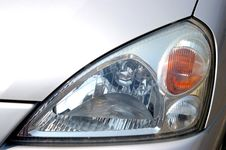 Free The Headlight Of The Car. Stock Photo - 5039680
