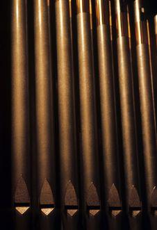 Free Organ Pipes Royalty Free Stock Photo - 5039715