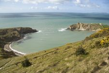 Free Lulworth Cove Royalty Free Stock Photos - 5039878