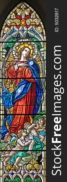 Stained-glass window 72
