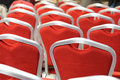 Free Red Chairs Royalty Free Stock Photo - 5041865