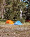 Free Camping Tents Royalty Free Stock Photo - 5042875