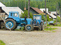Free Two Tractors Royalty Free Stock Photos - 5047158