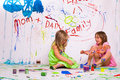 Free Children Paints Royalty Free Stock Images - 5049669