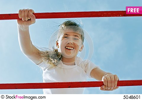 Free Girl In Play Stock Image - 5048601