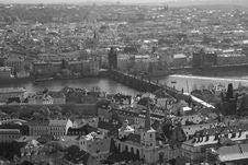 Charles Bridge Prague Stock Photo