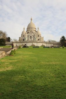 Free Basllique Du Sacre Coeur Royalty Free Stock Image - 5041316