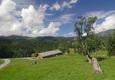 Free The Alpine Landscape Stock Image - 5042161
