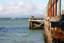 Free Ocean Pier Royalty Free Stock Photography - 5042267