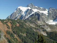 Free Summer Mt Shuksan Stock Image - 5042271