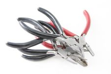 Free Black And Red Pliers 2 Stock Photos - 5042423