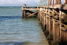 Free Ocean Pier Stock Image - 5042521